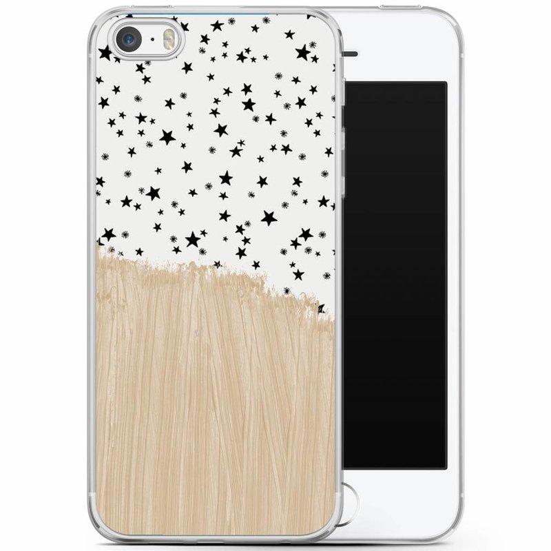iPhone 5/5S/SE siliconen hoesje - Keep on shining