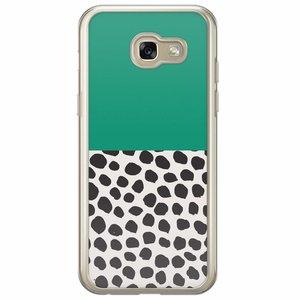 Samsung Galaxy A5 2017 siliconen hoesje - Wild dots