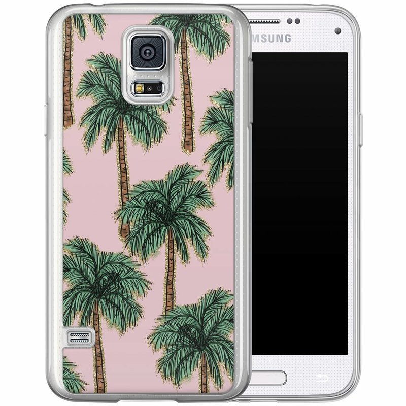 Casimoda Samsung Galaxy S5 (Plus) / Neo siliconen hoesje - Bora bora