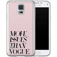 Casimoda Samsung Galaxy S5 (Plus) / Neo siliconen hoesje - Vogue issues