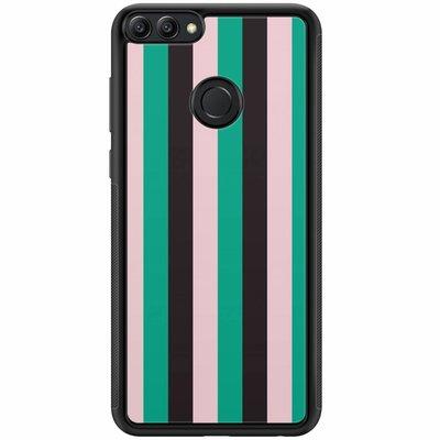 Casimoda Huawei P Smart hoesje - Stripe vibe