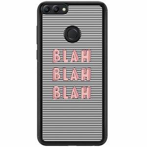 Huawei P Smart hoesje - Blah blah blah