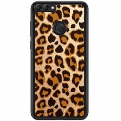 Huawei P Smart hoesje - Luipaard print