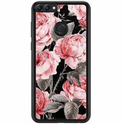 Casimoda Huawei P Smart hoesje - Moody florals