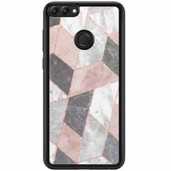 Casimoda Huawei P Smart hoesje - Stone grid