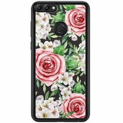 Casimoda Huawei P Smart hoesje - Rose story