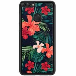 Huawei P Smart hoesje - Flora