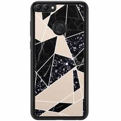 Casimoda Huawei P Smart hoesje - Abstract painted
