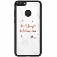 Huawei P Smart hoesje - Don't forget to be awesome