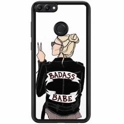 Casimoda Huawei P Smart hoesje - Badass girl