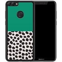 Huawei P Smart hoesje - Wild dots