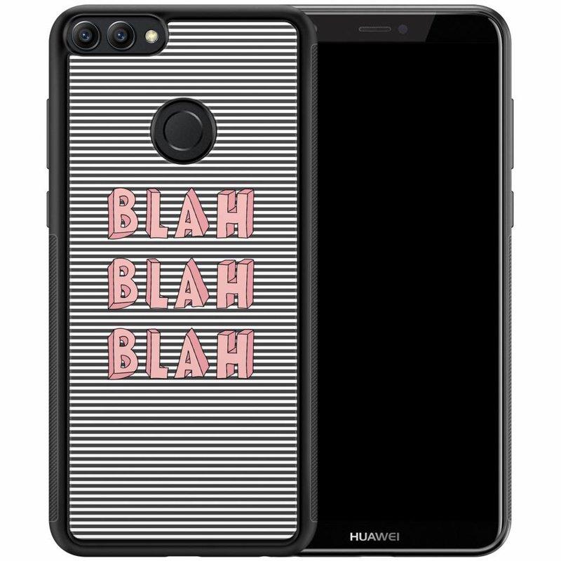 Casimoda Huawei P Smart hoesje - Blah blah blah