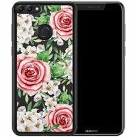 Huawei P Smart hoesje - Rose story