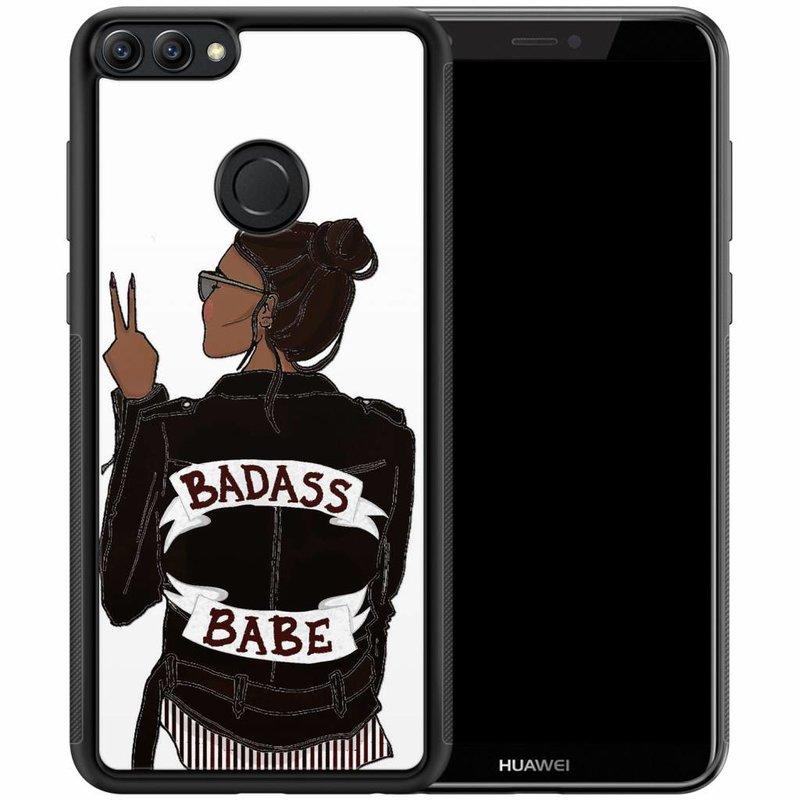 Huawei P Smart hoesje - Badass girl
