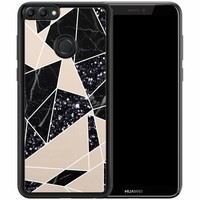Huawei P Smart hoesje - Abstract painted