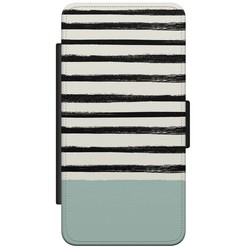 Samsung Galaxy S5 (Plus)/ Neo flipcase - Stripes on stripes