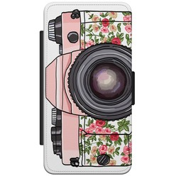 Samsung Galaxy S5 (Plus)/ Neo flipcase - Hippie camera