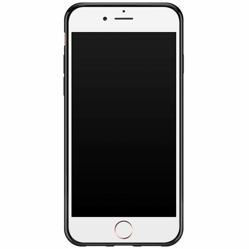 iPhone 8/7 siliconen hoesje naam - Get wild with me