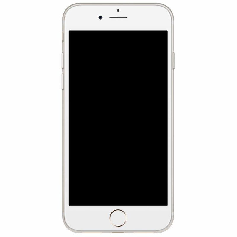 Casimoda iPhone 8/7 siliconen hoesje naam - Jungle