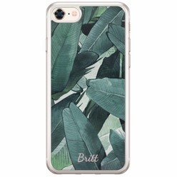 Casimoda iPhone 8/7 siliconen hoesje naam - Jungle