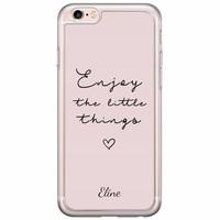 Casimoda iPhone 6/6s siliconen hoesje naam - Enjoy life