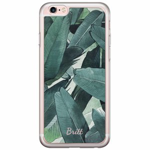 iPhone 6/6s siliconen hoesje naam - Jungle