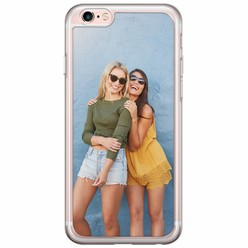 iPhone 6/6s siliconen transparant - Softcase met foto