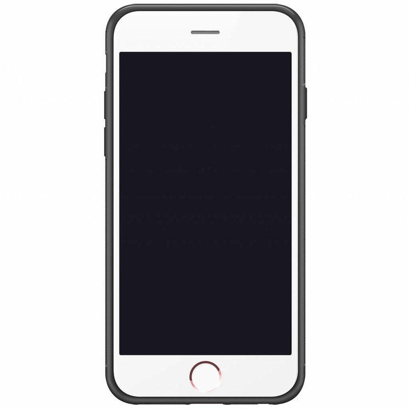 Casimoda iPhone 6/6s hardcase hoesje naam - Marmer zwart goud