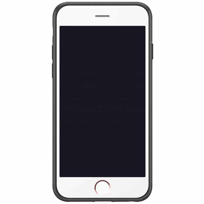 Casimoda iPhone 6/6s hardcase hoesje naam - Marble grid