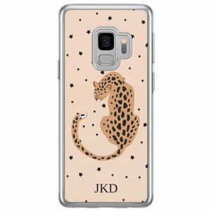 Samsung Galaxy S9 siliconen hoesje naam - Get wild with me