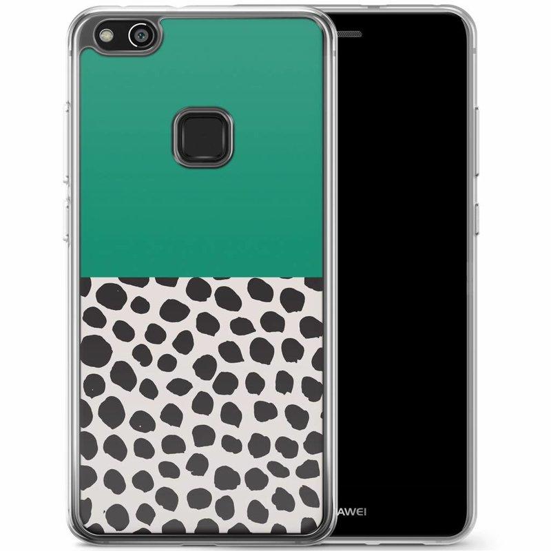 Casimoda Huawei P10 Lite siliconen hoesje - Wild Dots