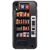 iPhone XR siliconen hoesje - Snoepautomaat