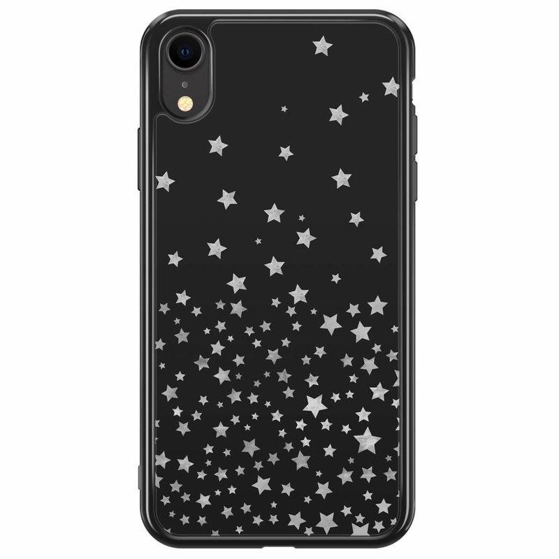iPhone XR siliconen hoesje - Falling stars