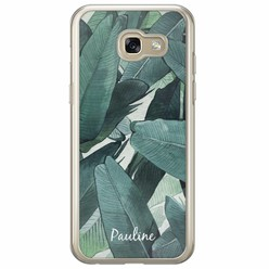 Samsung Galaxy A5 2017 hoesje naam - Palmbladeren