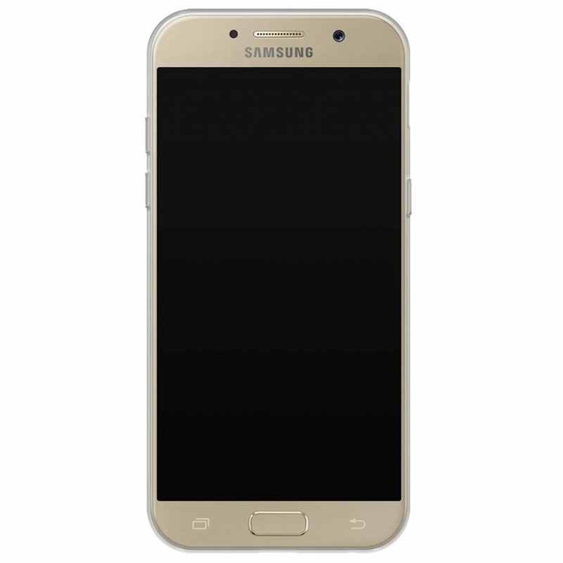 Casimoda Samsung Galaxy A5 2017 hoesje naam - Palmbladeren
