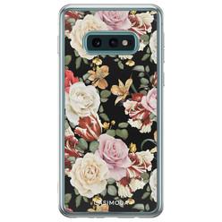 Casimoda Samsung Galaxy S10e siliconen hoesje - Flowerpower