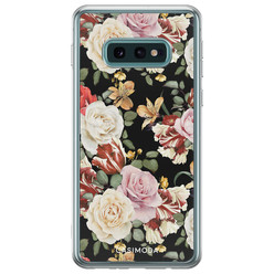 Samsung Galaxy S10e siliconen hoesje - Flowerpower
