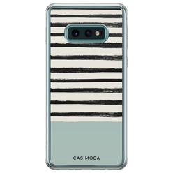 Samsung Galaxy S10e siliconen hoesje - Stripes on stripes