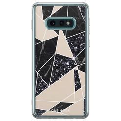 Casimoda Samsung Galaxy S10e siliconen hoesje - Abstract painted