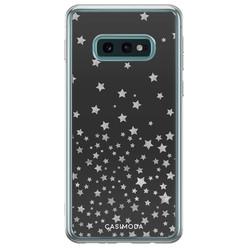 Samsung Galaxy S10e siliconen hoesje - Falling stars