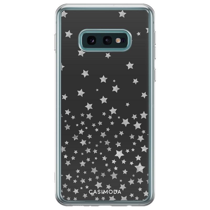 Casimoda Samsung Galaxy S10e siliconen hoesje - Falling stars