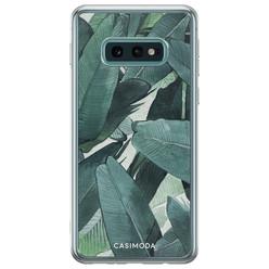 Casimoda Samsung Galaxy S10e siliconen hoesje - Jungle