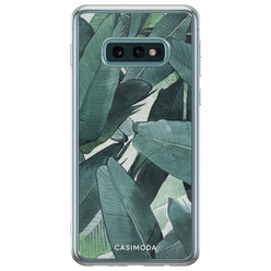Samsung Galaxy S10e siliconen hoesje - Jungle