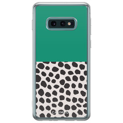 Casimoda Samsung Galaxy S10e siliconen hoesje - Wild dots