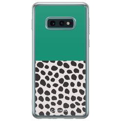 Samsung Galaxy S10e siliconen hoesje - Wild dots