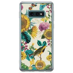 Samsung Galaxy S10e siliconen hoesje - Sunflowers