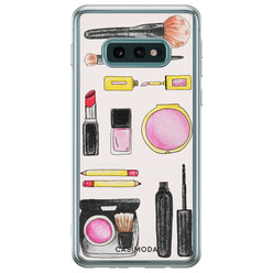Samsung Galaxy S10e siliconen hoesje - Make up