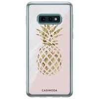 Casimoda Samsung Galaxy S10e siliconen hoesje - Ananas