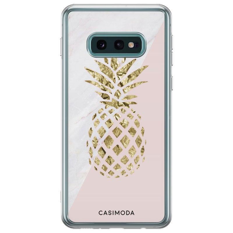 Samsung Galaxy S10e siliconen hoesje - Ananas