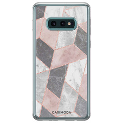 Samsung Galaxy S10e siliconen hoesje - Stone grid